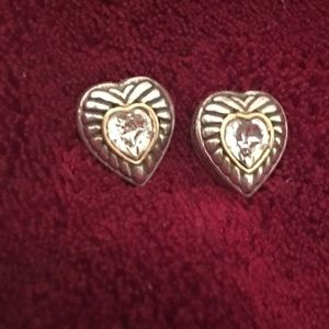 ✨Brighton Heiress Heart Stud earrings